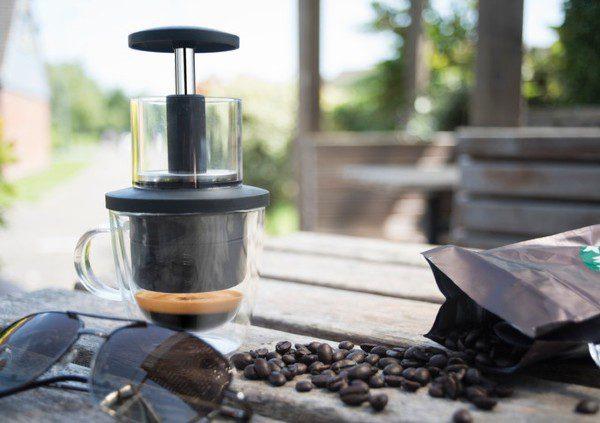 Coffeejack: maak espresso terwijl je onderweg bent
