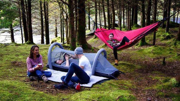 Crua Modus: de draagbare, compacte '6-in-1' tent