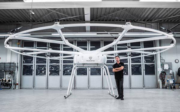 VoloDrone: een enorme drone voor goederenvervoer
