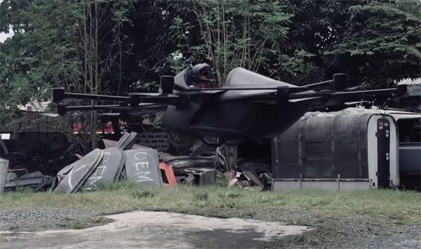 Concepto Millenya: een persoonlijk vliegtuigje met dronetechnologie