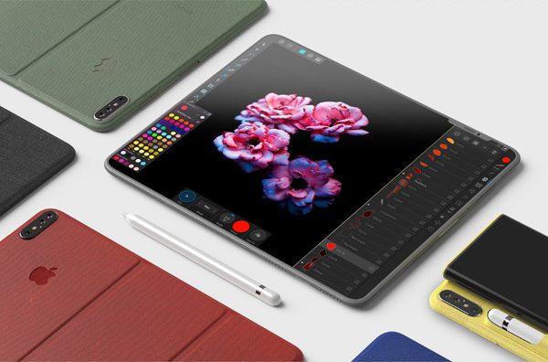 iPhone Pro: de conceptuele combinatie van een iPhone en een iPad