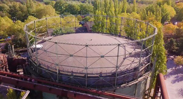 Duits park in oude fabriek heeft grootste Europese indoor-duiklocatie