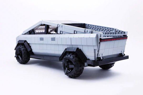 Cybertruck van Tesla mogelijk beschikbaar als echte LEGO-set