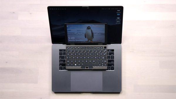 Deze piepkleine laptop beschikt toch over een i7-processor