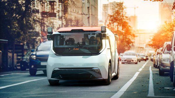 Cruise Origin: een elektrische taxi zonder bestuurdersstoel en stuur