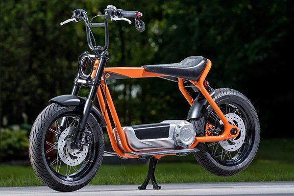 Elektrische scooter van Harley-Davidson belooft veel goeds