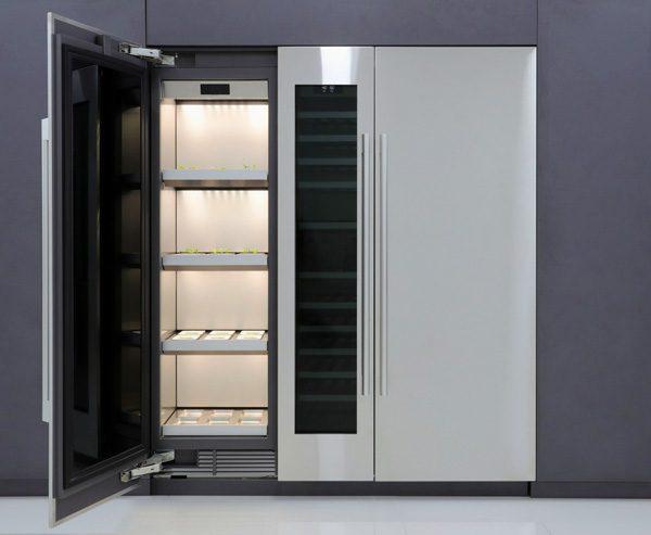 LG Column Garden: een computergestuurde groentetuin
