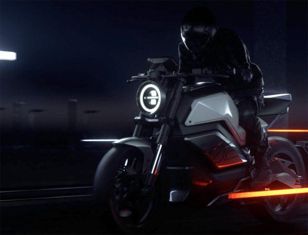 Niu RQi: een elektrische motor met een topsnelheid van 160 km/u