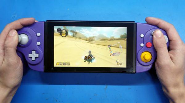 Knutselaar bouwt GameCube Joy-Cons voor de Switch