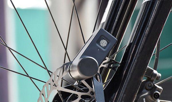 Walsun: een fietsslot met een vingerafdruksensor