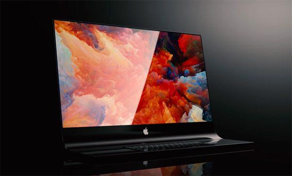 iMac Pro concept met gebogen glas gooit hoge ogen