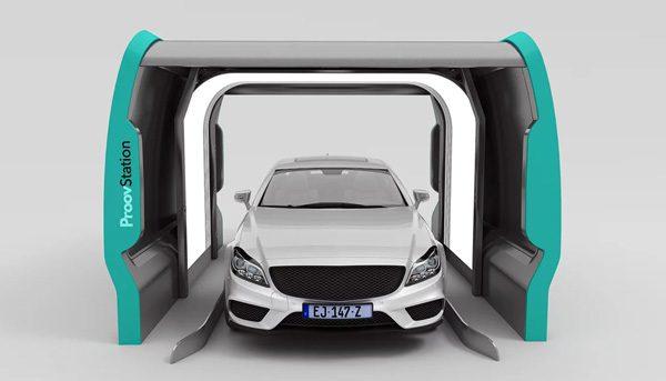 Proovsation: een scanner die in 3 seconden een auto analyseert