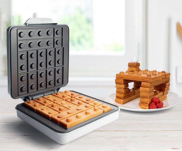 Building Brick Waffle Maker: spelen met eten