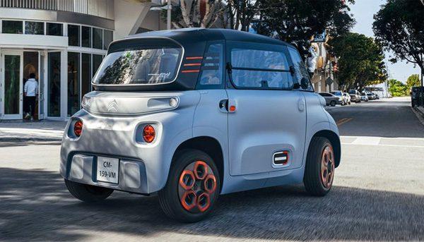 Citroën Ami: een elektrisch stadswagentje voor twee personen