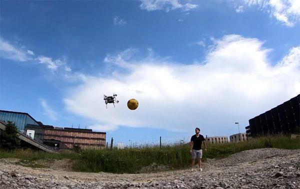Nieuw systeem maakt drones zeer bedreven in het ontwijken van ballen