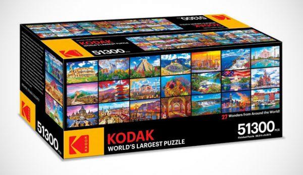 Deze gigantische puzzel met 51.300 stukjes houdt je wel even zoet