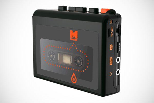 Mystik: een draagbare speler voor cassettebandjes met Bluetooth