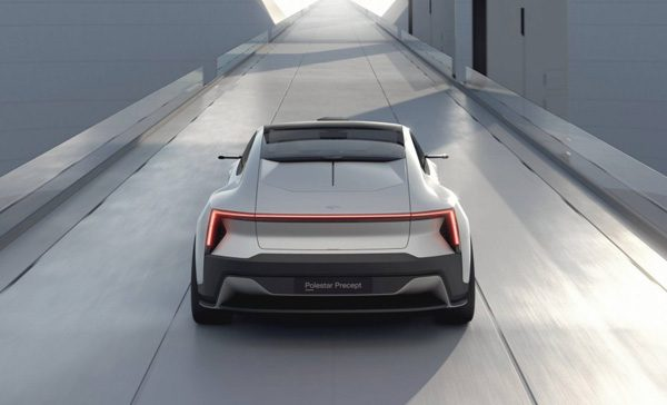 Volvo's Polestar Precept is een geduchte concurrent voor Tesla