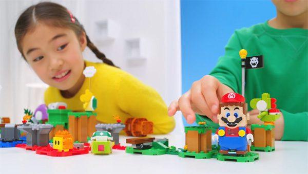 LEGO en Nintendo slaan de armen ineen voor Super Mario LEGO