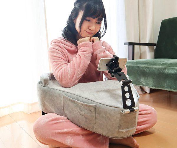 Turn-a-cushion: een ideaal kussen voor thuisquarantaine