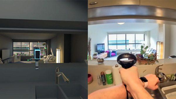 Ontwikkelaar tovert zijn appartement om tot een VR-game