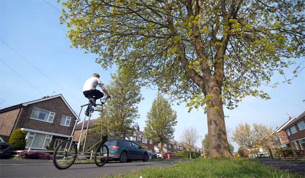 Highcycle: een fiets die je afstand laat houden van je medemens