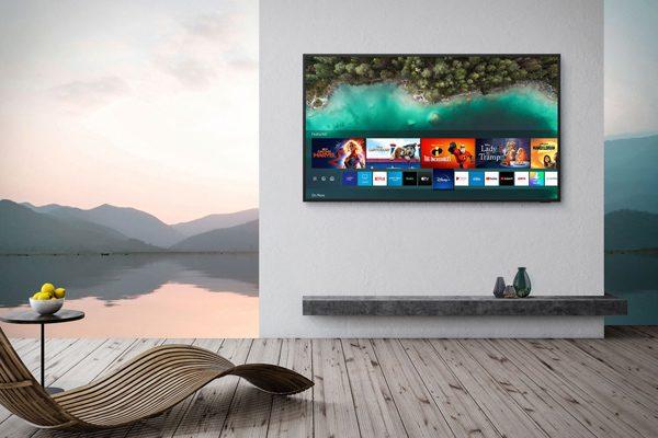 Samsung Terrace: een waterdichte televisie voor in je achtertuin