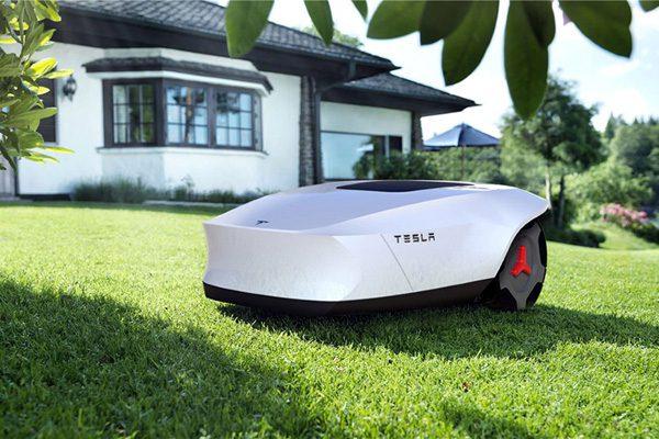 Als Tesla een autonome grasmaaier zou maken