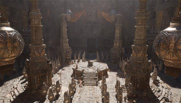 De nieuwe Unreal Engine schudt schitterende beelden uit zijn mouw