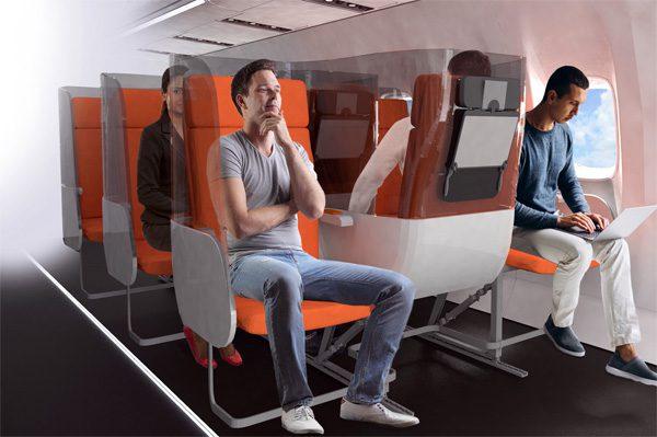 Mogelijk zien vliegtuigen er de komende jaren zo uit