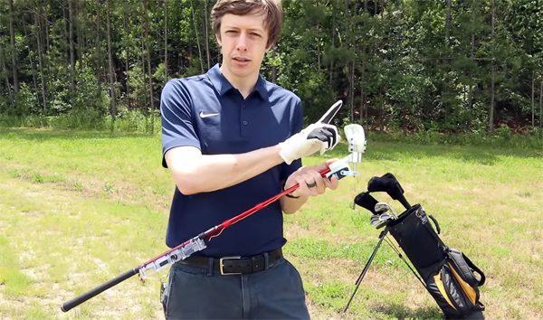 Innovatieve golfclub past zich aan op basis van jouw slag