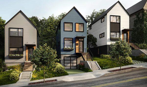 Modulaire woning laat je op eenvoudige wijze een extra verdieping plaatsen