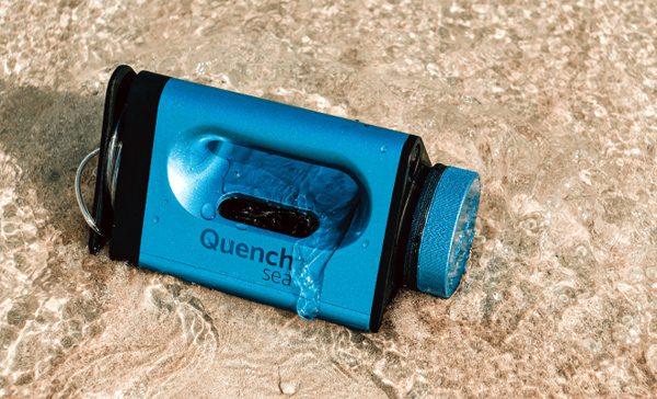 QuenchSea: zet zeewater om in drinkwater