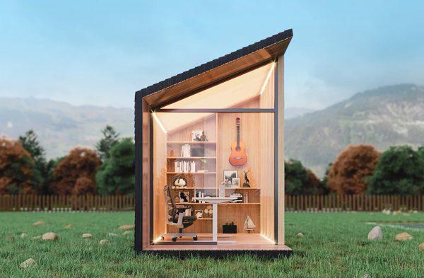 Zen Work Pod: het ideale kantoor aan huisje