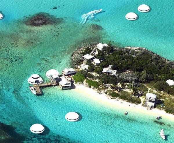 Anthénea: drijvende hotelkamers voor een afgezonderde vakantie