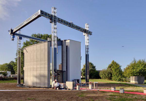 Vlaamse firma bouwt met enorme 3D-printer woning van 90 vierkante meter