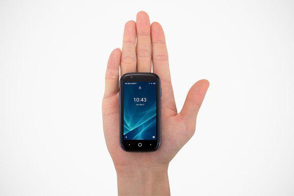 De nieuwe mini-smartphone Jelly is een grote hit op Kickstarter