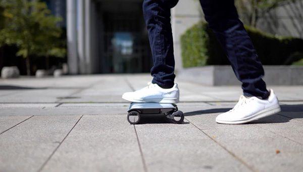 Walkcar: een elektrische karretje met vier wielen