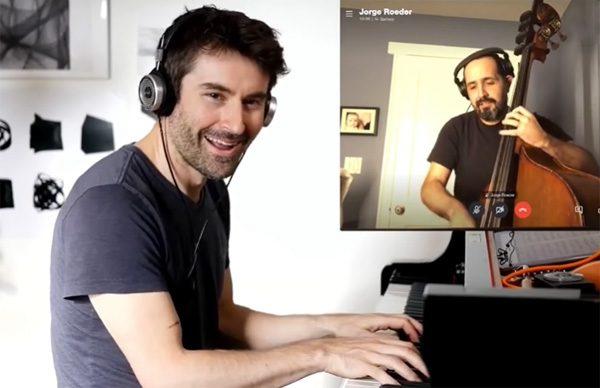 Waarom het moeilijk is voor muzikanten is om online samen te spelen