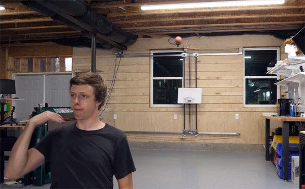 Geautomatiseerd systeem zorgt dat iedere basketbal raak is