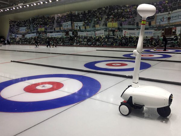 Curly: de robot die een expert is in curling