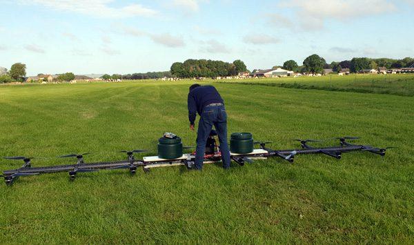 Nederlandse drone is speciaal ontwikkeld voor boeren