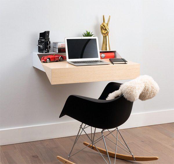 Hideaway Wall Desk: het perfecte bureautje voor thuiswerkers