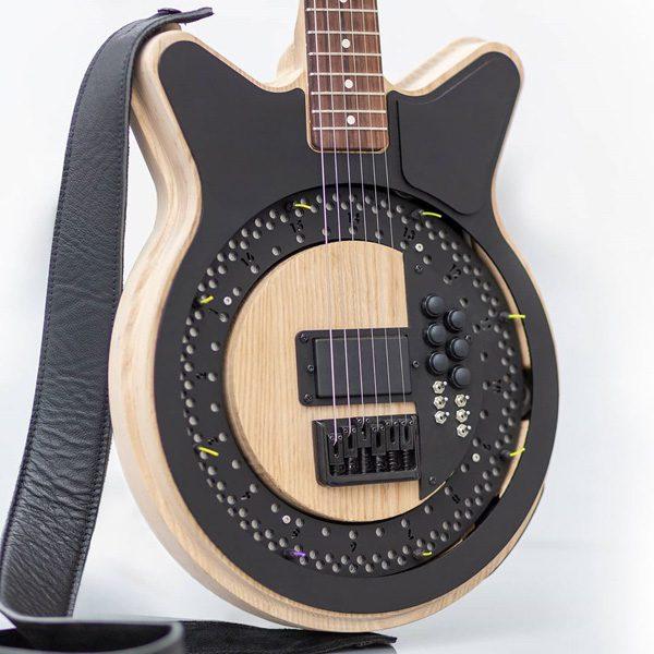 Circle Guitar: een gitaar die zelf de snaren aanslaat