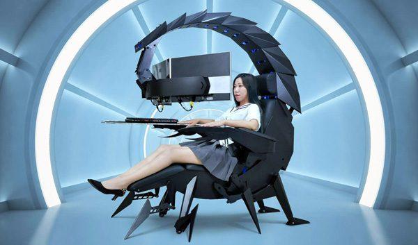 Cluvens Scorpion: een gemotoriseerde gamestoel met massagefunctie