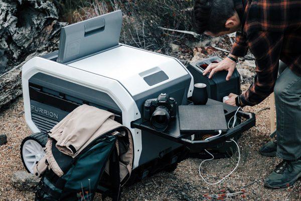 Furrion eRove: een mobiele koelkast op wielen