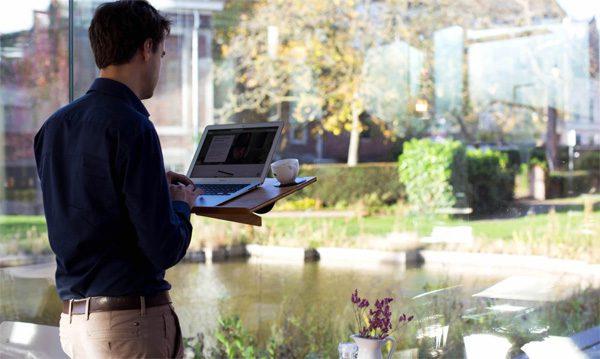 Notadesk: een bureau dat je overal kunt gebruiken