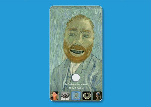 Verander in een schilderij van Van Gogh met Google's Art Filter