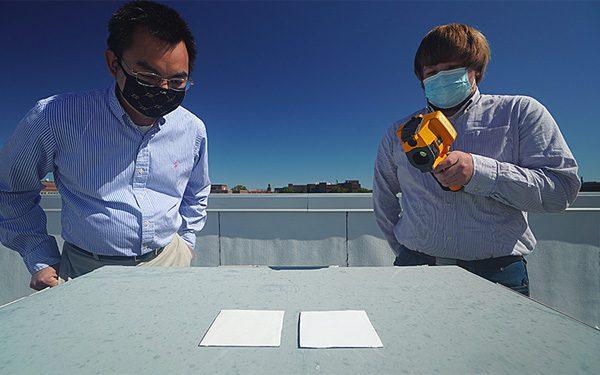Nieuwe verf reflecteert 95,5 procent van het zonlicht