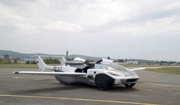 Aircar: een vliegende auto uit Slowakije